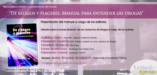 Presentación Madrid Manual De riesgos y placeres