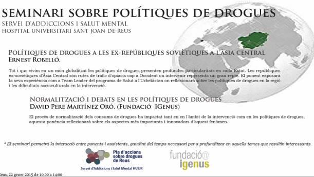 Seminari Polítiques Drogues